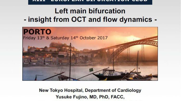 Left main bifurcation - insight from OCT and flow dynamics [ Yusuke Fujino, Japan ] 2017